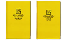 Waterproof field journals