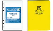 Waterproof loose leaf paper