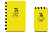 Waterproof notebooks