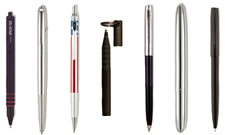Waterproof pens
