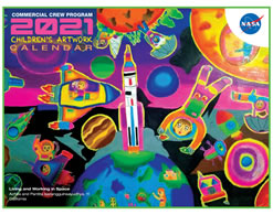 NASA CCP Children's Artwork 2020 Calendar