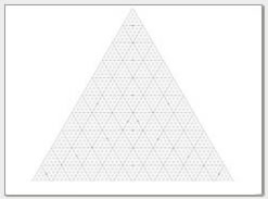 triangular graph paper Free Printable Ternary Diagram Paper | Triangular Graph Paper