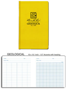 geology field book