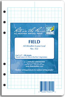 all weather loose leaf paper