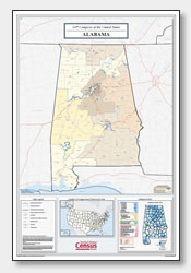 printable Alabama congressional district map