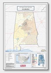 printable Alabama congressional district map