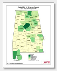 printable Alabama population by county map
