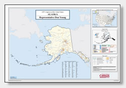 printable Alaska congressional district map