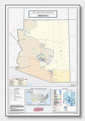 printable Arizona congressional district map