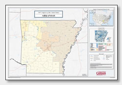 printable Arkansas congressional district map