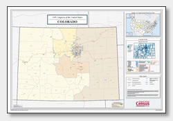 printable Colorado congressional district map