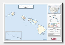 photo about Printable Map of Hawaii known as Printable Hawaii Maps Nation Determine, County, Towns