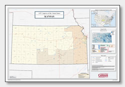 printable Kansas congressional district map