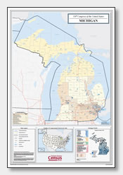 Stupendous image throughout printable michigan maps