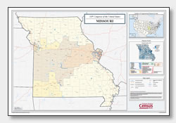 printable Missouri congressional district map