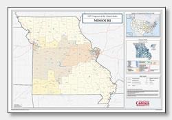 printable Missouri congressional district map