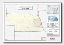 printable Nebraska congressional district map