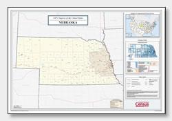 Printable Nebraska Maps | State Outline, County, Cities