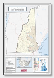printable New Hampshire congressional district map