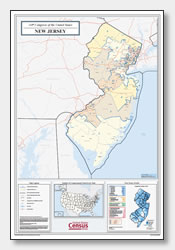 picture relating to Printable Map of Nj identified as Printable Clean Jersey Maps Nation Define, County, Towns