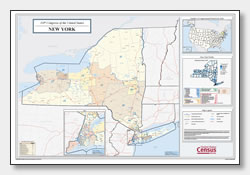 printable New York congressional district map