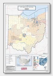 printable Ohio congressional district map