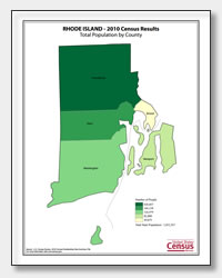 printable Rhode Island population by county map