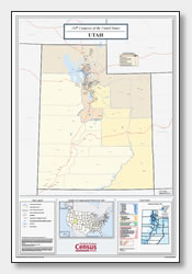 printable Utah congressional district map