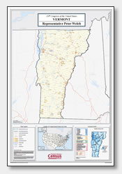 printable Vermont congressional district map