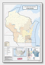 printable Wisconsin congressional district map