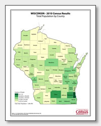 printable Wisconsin population by county map