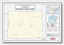 printable Wyoming congressional district map